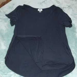 Sz M Navy Blue relaxed fit T-shirt Old Navy